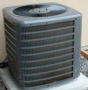 AC Unit For Coil Cleaning