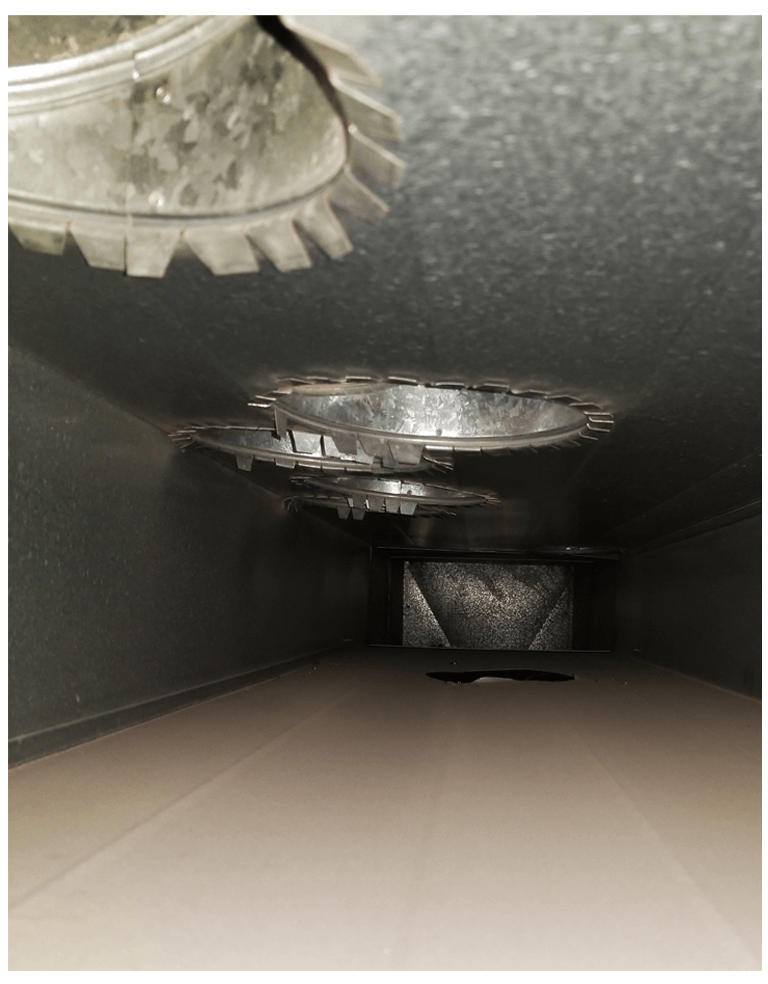 Inside Air Duct Supply
