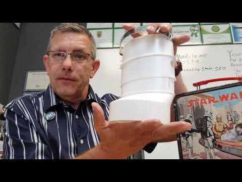 Brandon Kirk from Planet Duct hosting educational video about how to connect round dryer hoses to oval ducts with an adapter