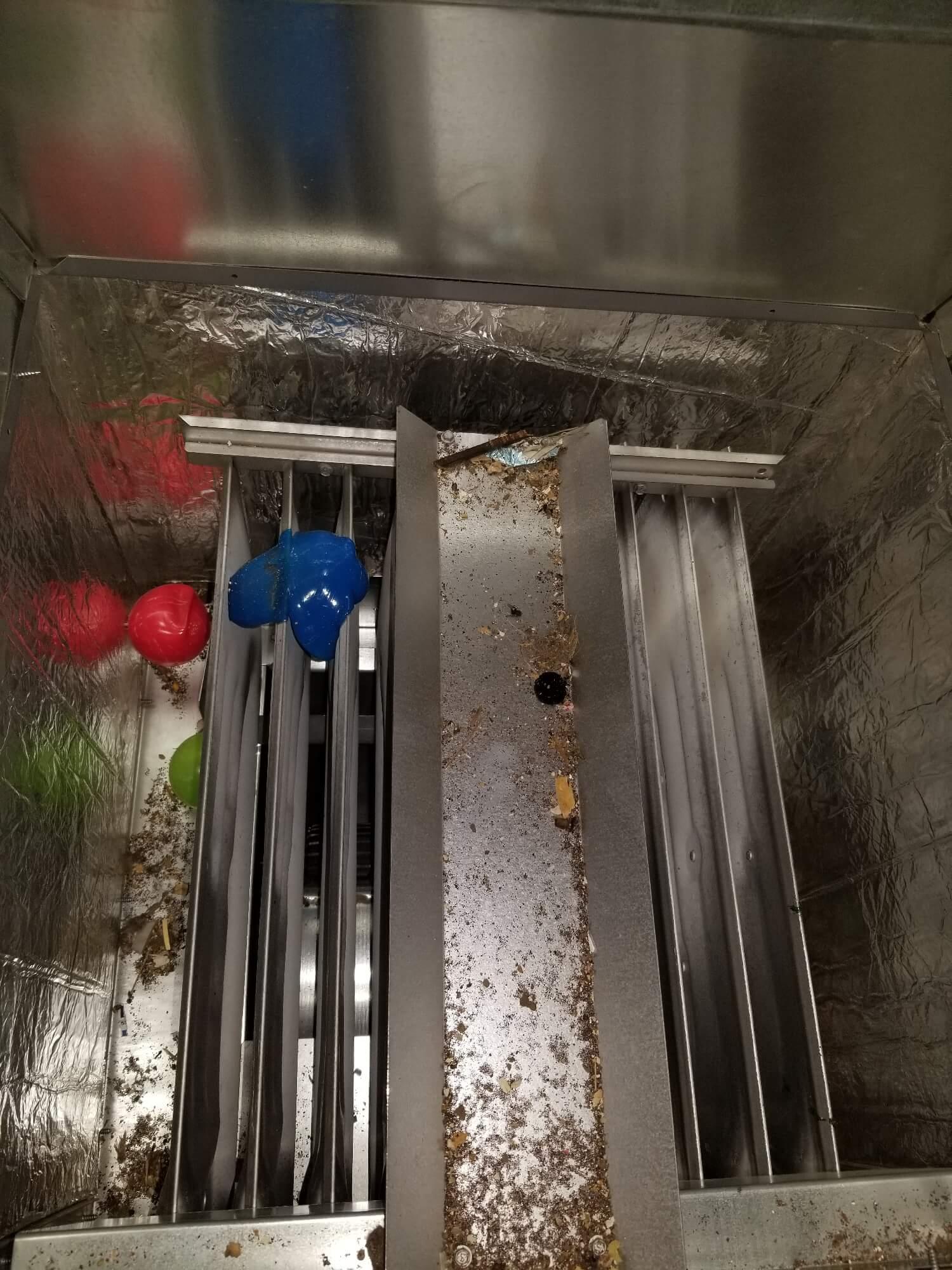 plastic toys on heat exchangers
